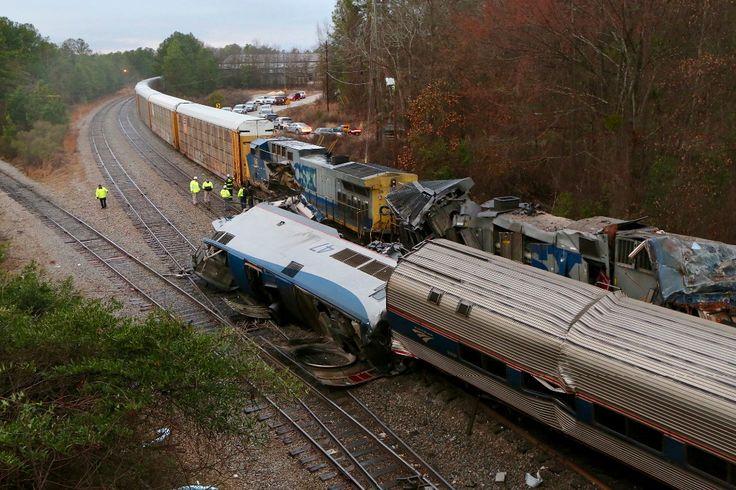 #DESTACADAS:  Al menos dos muertos en colisión de trenes en Carolina del Sur - La Jornada en linea