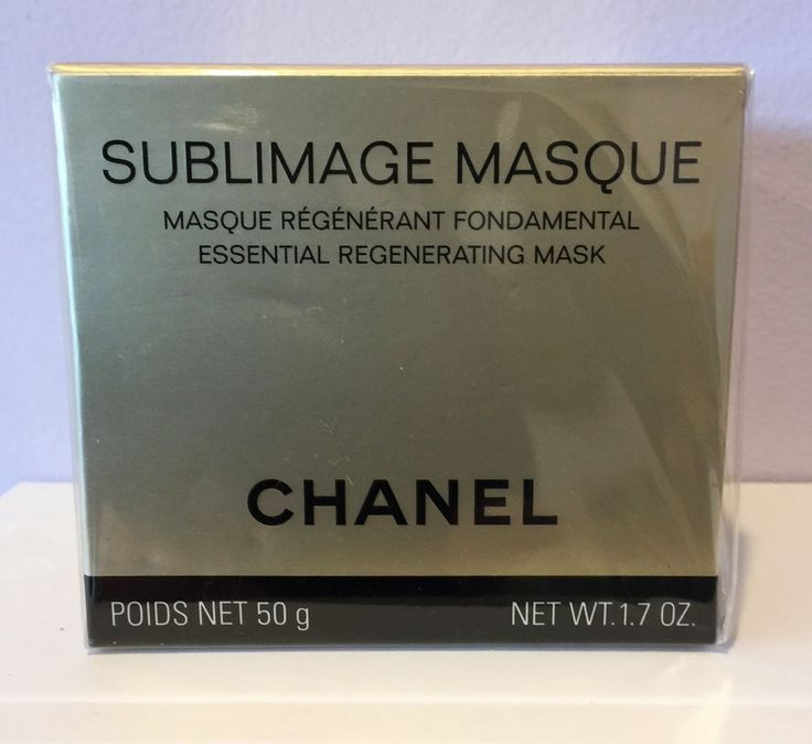 CHANEL SUBLIMAGE MASQUE ESSENTIAL REVITALISING MASK, 1.7 oz • Brand New In Box #CHANEL