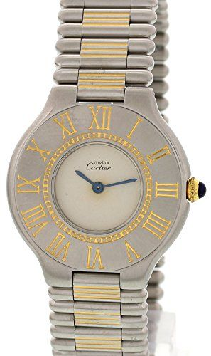 Cartier Must de Cartier 21 swiss-quartz womens Watch NA (Certified Pre-owned) https://www.carrywatches.com/product/cartier-must-de-cartier-21-swiss-quartz-womens-watch-na-certified-pre-owned/  #cartier-cartierwatch-cartierwatches-#cartierwatch-#cartierwatches #ladieswatches #women #womenswatches - More Cartier ladies watches at https://www.carrywatches.com/shop/wrist-watches-for-women/cartier-watches-for-women/