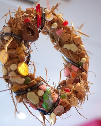 Inspiration: Sinterklaas wreath (krans).