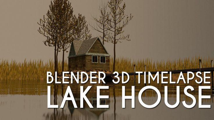 #Blender3D #TimeLapse: #Modelling a #LakeHouse  https://techisle.wordpress.com/2015/06/16/blender-3d-time-lapse-modelling-a-lake-house/