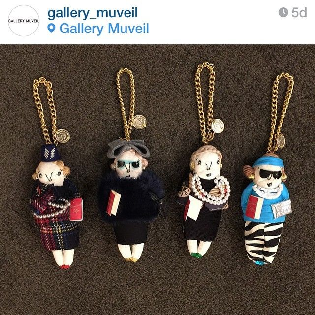 Advanced Style - Gallery Muveil just released a limited edition set of doll charms based on some of the stars of @advancedstyle movie to celebrate the film's Japanese release!