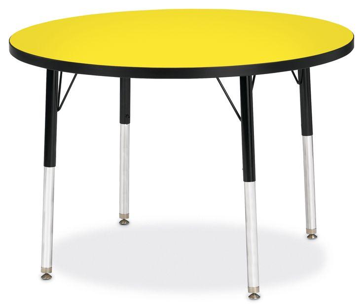 Jonti Craft 6488JC Ridgeline KYDZ Round Activity Table 36 Inch Http://www