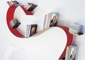 Bookworm by Ron Arad