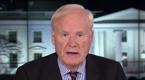 Chris Matthews floats Trump bombed Syria as a cover for Russian ties … not once, but twice