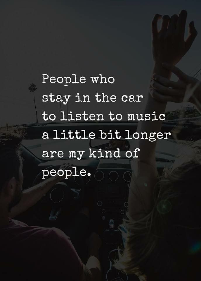 Oh YES! DEFINITELY! When a song by your favorite band comes on the car radio and you have to stay put until it ends. You cannot interrupt it. If I hear a Queen song on the supermarket radio, I have to stay in there until it has ended and I have to devote my full attention to it.