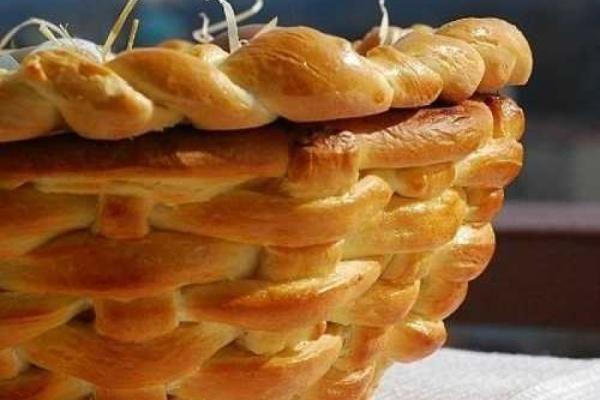 Πασχαλινό καλάθι από...ζύμη Μια αφράτη γιορτινή ιδέα, που τρώγεται!