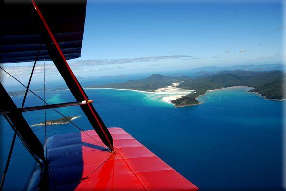 Tigermoth Adventures Whitsunday   Aerobatics   Scenc flights