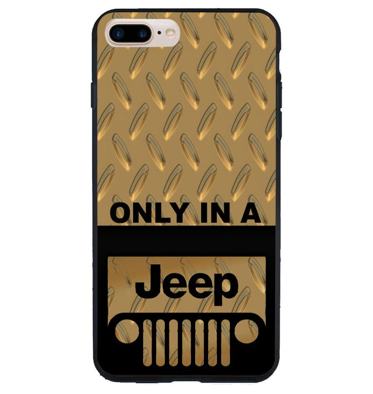 NEW Only Jeep Custom Gold Logo Print On Hard Cover Case For iPhone 6/6s 7/7 Plus #UnbrandedGeneric #Cheap #New #Best #Seller #Design #Custom #Case #iPhone #Gift #Birthday #Anniversary #Friend #Graduation #Family #Hot #Limited #Elegant #Luxury #Sport #Special #Hot #Rare