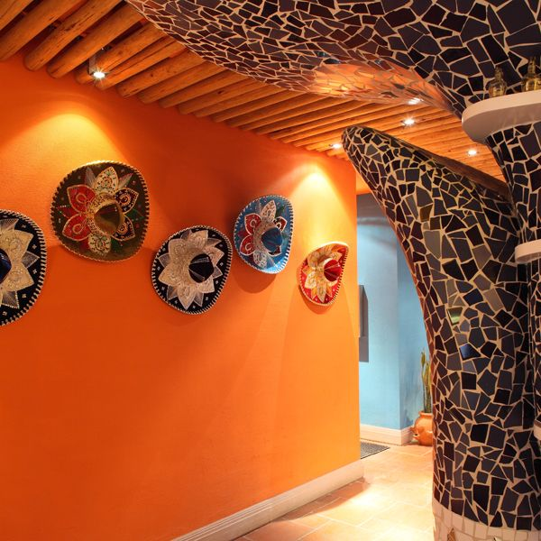 Restaurant Bar Wall Decor : Best ideas about mexican restaurant decor on