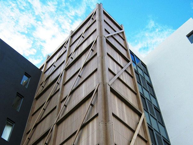 nnoClad Architectural Composite Wood Cladding System