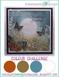 Chocolate Baroque colour and inspiration challenge