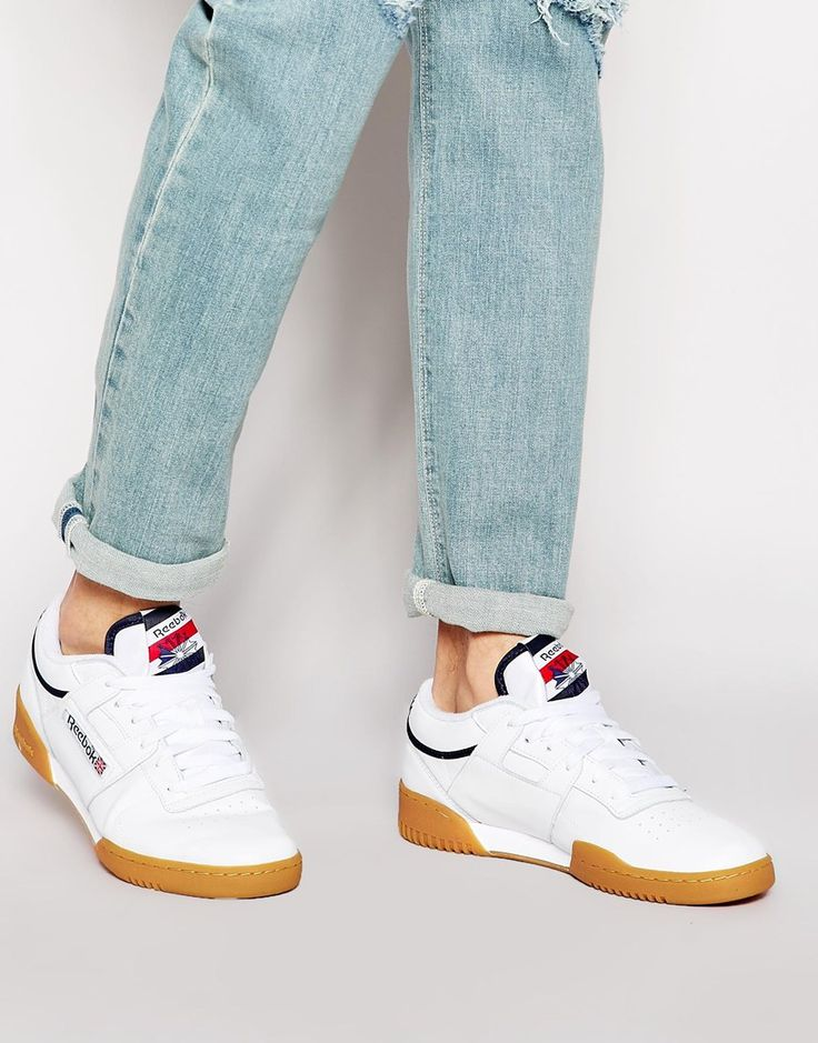 reebok workout low white gum cheap   OFF53% The Largest Catalog ... 0749bf202