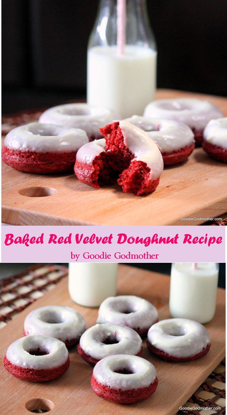 Red Velvet Doughnuts Pinterest