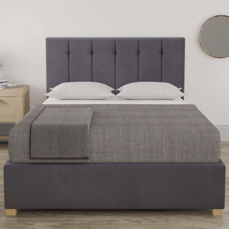 Aspire Furniture Pimlico Small Double Bedframe Plush Velvet