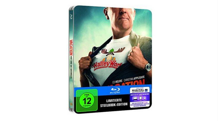 [Angebot]  Vacation  Wir sind die Griswolds (Steelbook) [Blu-ray] [Limited Edition] für 1197
