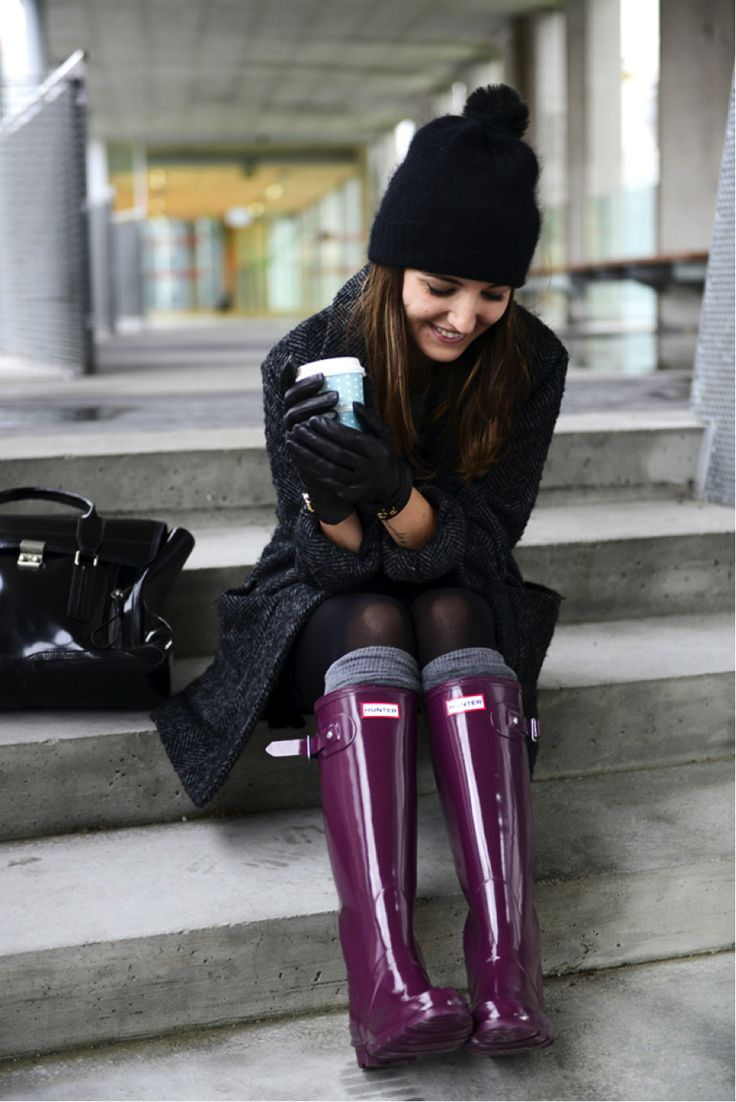 http://www.fashiontrendwebsites.com/category/hunter-boots/ How to wear Hunter…