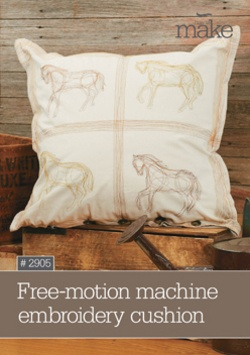 Free-motion embroidery