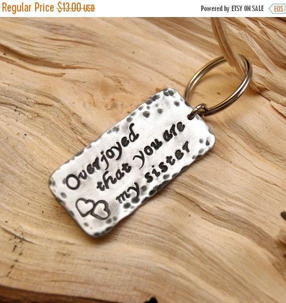 sale sale sale PERSONALIZED KEYCHAIN , sister,  friendship gift, personalized jewelry, personalized men jewelry