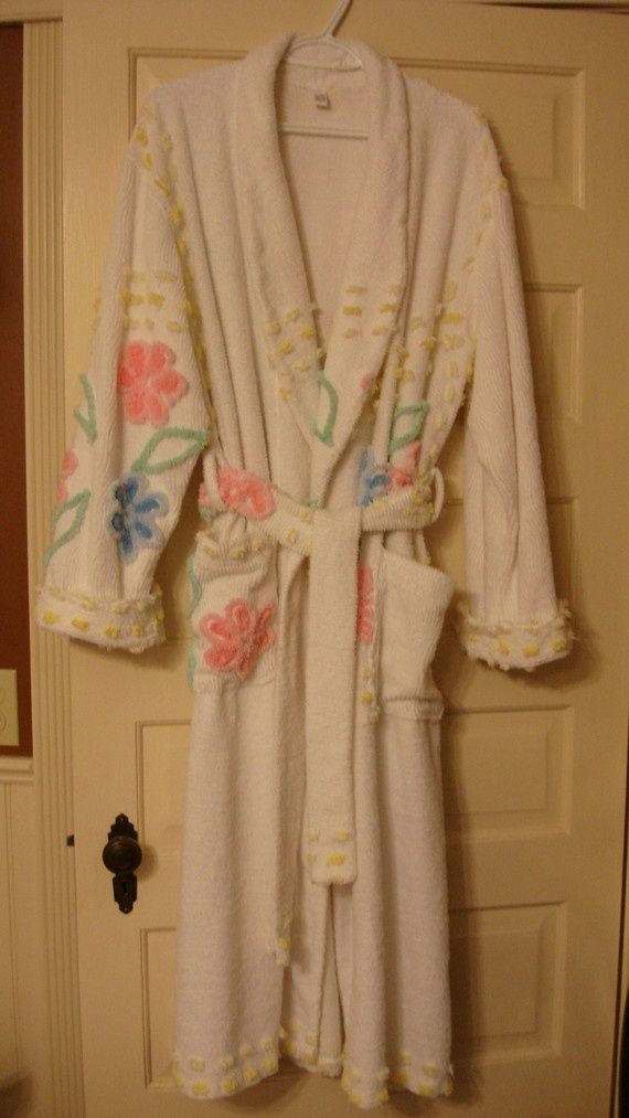 21 Best Images About Vintage Chenille Robes On Pinterest