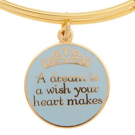 Cinderella ''A Dream is a Wish . . .'' Bangle by Alex and Ani