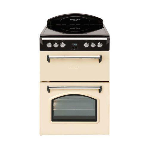 Leisure GRB6CVC Heritage Double Oven 60cm Electric Cooker Cream