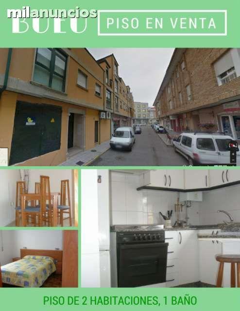 Venta de Piso en Bueu Pontevedra Piso en Bueu de 2 habitaciones, salón, cocina y baño con garaje. Suelos de Madera y cerámicos en cocina salón y baño, la cocina está equipada con electrodomésticos se vende con los muebles que tiene. No tiene trastero ni calefacción, comunidad 35€ está incluida el agua.  #bueu;  #vigo;  #solar; #casa; #venta; #compra; #se_vende; #se_compra, ; #venta_de_pisos; #venta_de_casas; #venta_de_chalets; #venta_de_terreno; #inmobiliarias_vigo; #venta_de_pisos_en_bueu…