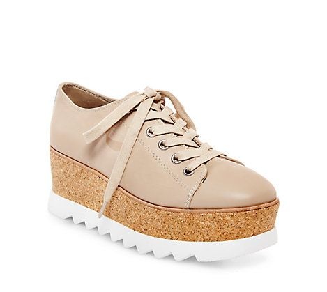 Steve Madden Womens Korrie Nude Leather Casual 5 US *** Find out more by  clicking the VISIT button