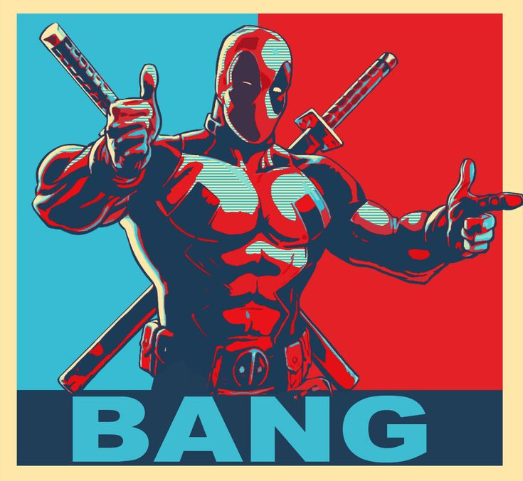 Deadpool Political by theblueblur242.deviantart.com on @deviantART