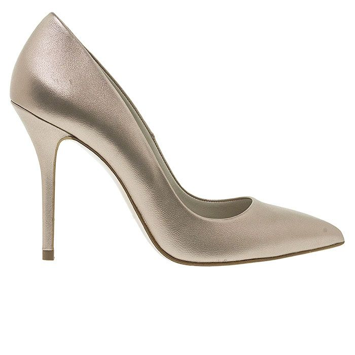 100400-SAND LEATHER www.mourtzi.com #pumps #heels #greekdesigners #metallics