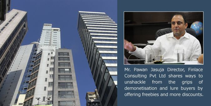 Real estate market is exhibiting a drop in sales volume and increased inventory pile up as buyers adopt the wait and watch approach. Read views of Mr. Pawan Jasuja, Director of Finlace Consulting.