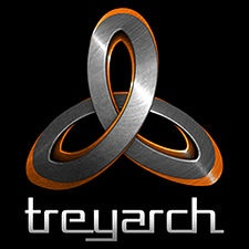 Treyarch: American video game developer company. Activision. Video games, gaming