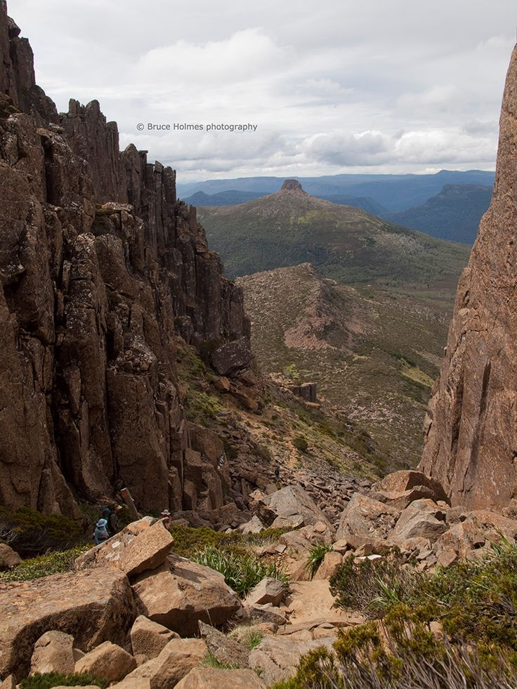 Tasmania's would famous Overland Track covers 65km through a magnificent World Heritage-listed landscape. #walking #hiking #trekking #tasmania #discovertasmania Read more at: http://www.traveltherenext.com/adventure/item/531-hiking-tasmania-s-overland-track