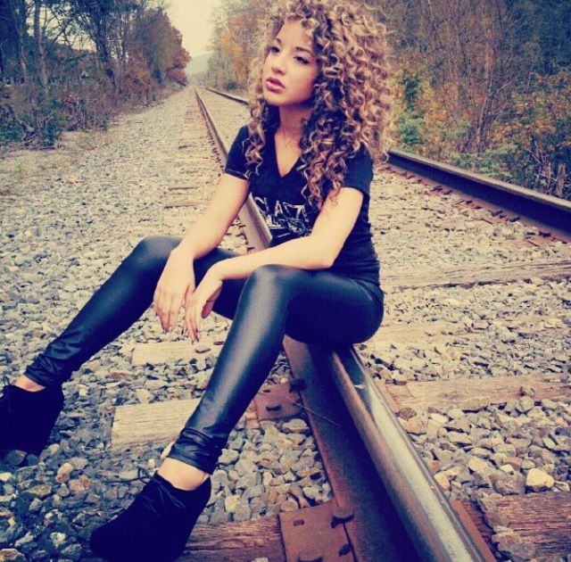 Natural curly hair Jadahdoll