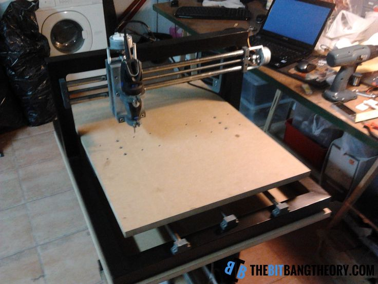 HOMEMADE CNC: THEMAKER2