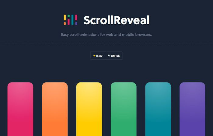 25 JavaScript Libraries for Cool Scrolling Effects - Hongkiat