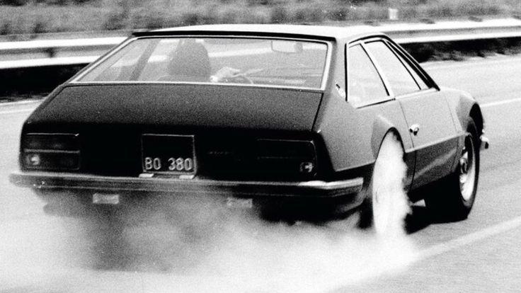 lamborghini jarama burnout golden age of automotive