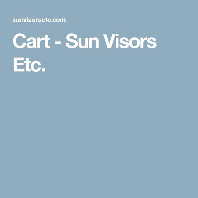 Cart - Sun Visors Etc.