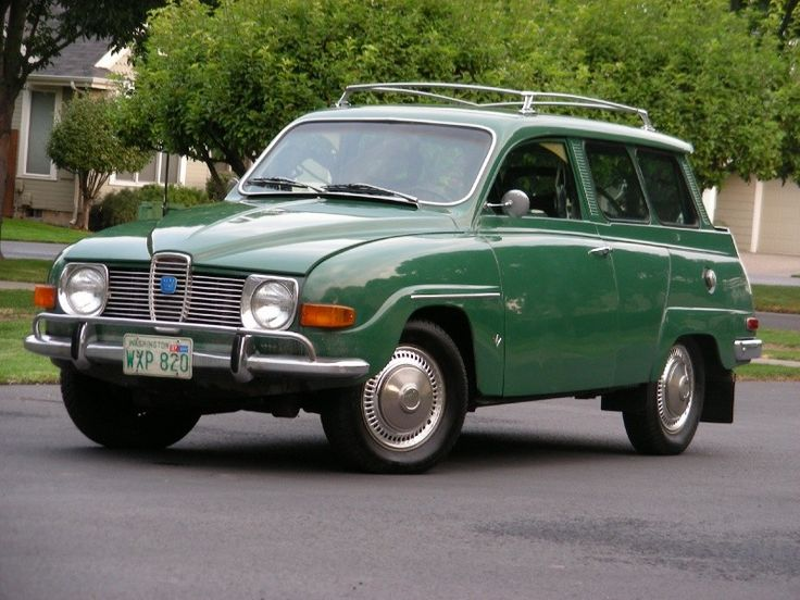 1970 Saab 9-5 7 Pass Station Wagon