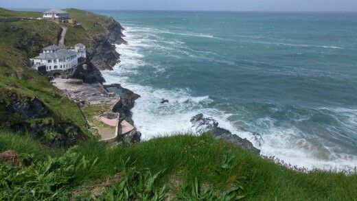 Cornwall  #Cornwall #nature #beach #uk #cliff #ocean #shore #coast