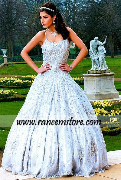Asian wedding dresses white