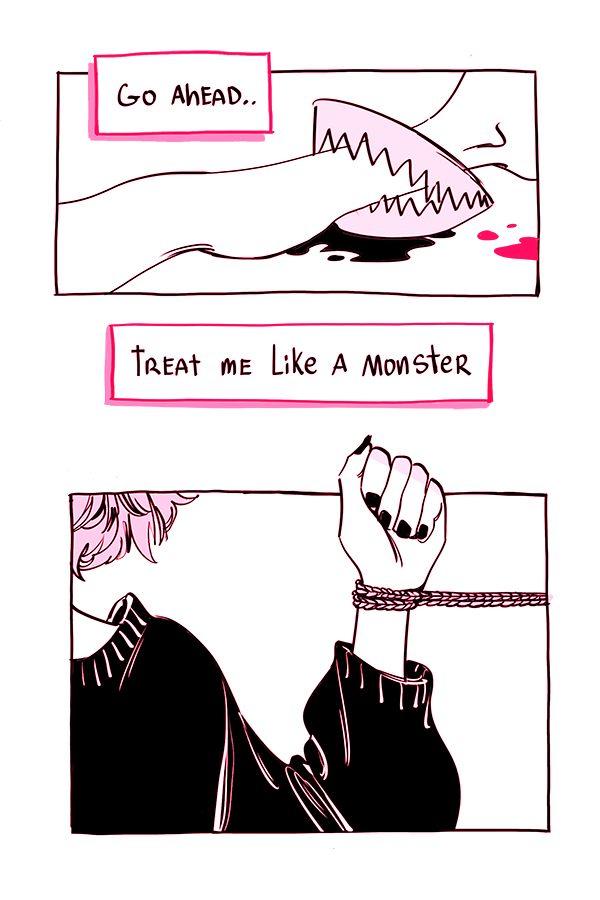 Pink :: blood pt 2   Tapastic Comics - image 1