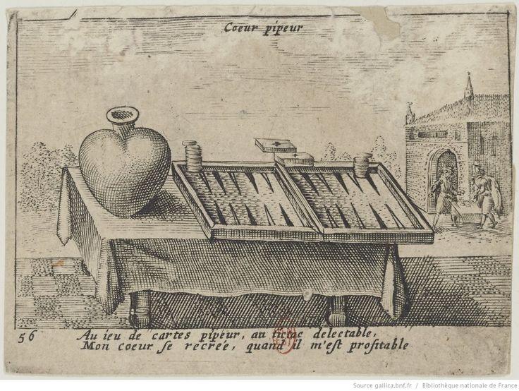 [Jeu de cartes à devises sur le thème des variations du cœur] : [estampe]   Gallica