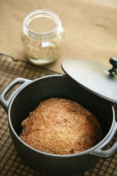 Rye flour produces a rare gem with this Rye Bread recipe.