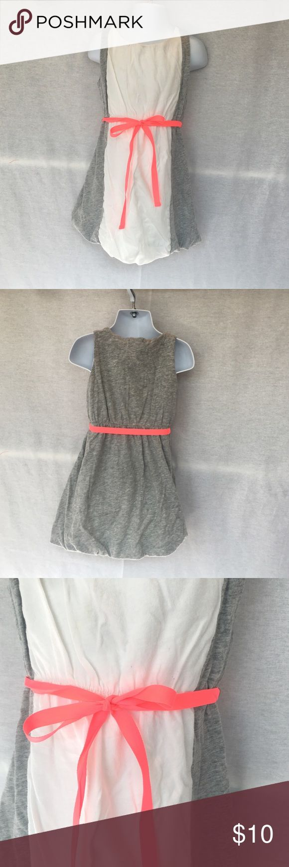 J Crew Kids dress with ribbon belt size 4 J Crew Kids dress with ribbon belt size 4 J. Crew Dresses