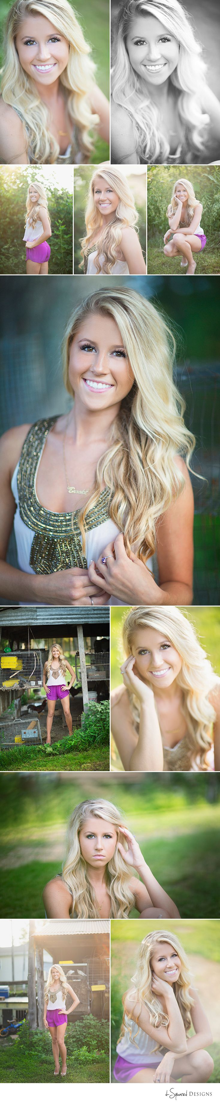 d-Squared Designs St. Louis, MO Senior Photography. Senior girl photography. Senior girl posing. Gorgeous. Blonde. Barbie. Country session. Posing ideas.