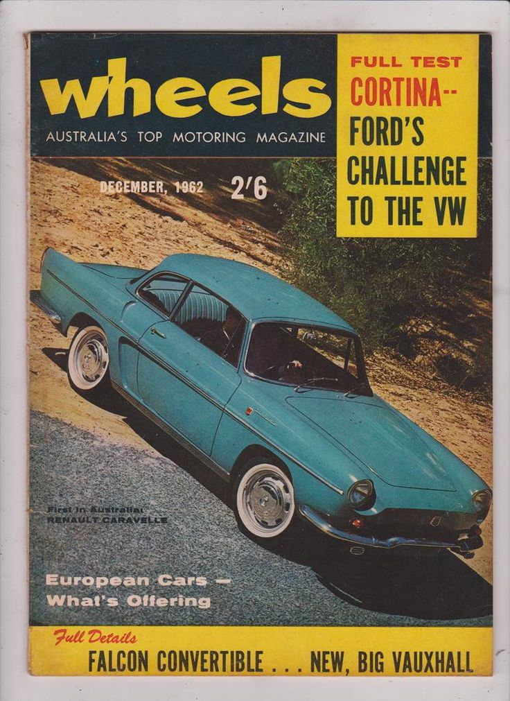 Husband Gift Idea December 1962 Vintage Australian Wheels Magazine Birthday or Christmas Idea for Him by SuesUpcyclednVintage on Etsy