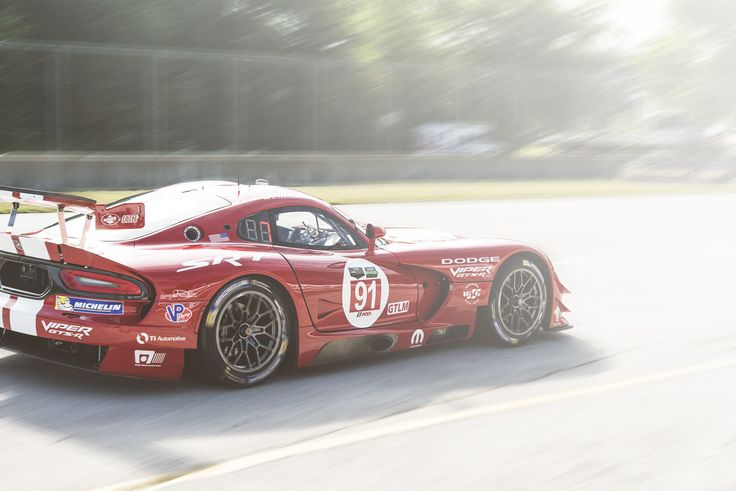 TUDOR United Sports Car Championship hits Road America. GTLM Dodge Viper GTS.R