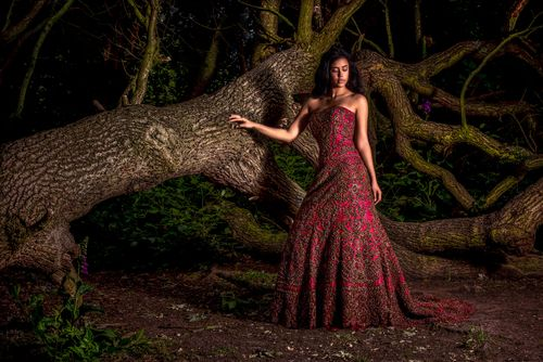 SikhandDread Fashion Bridal Portrait