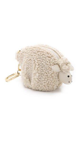 Tory Burch Larry Lamb Pouch Bag Charm